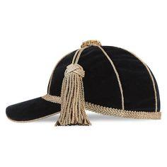 bef7ff8c8d1 Gucci Velvet Cap With Tassel