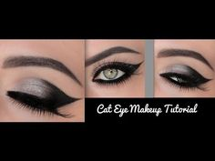 How to create the perfect cat eye make-up look? Eyeliner For Hooded Eyes, Perfect Winged Eyeliner, Simple Eyeliner, Best Eyeliner, Eyeliner Styles, Pencil Eyeliner Tutorial, Cat Eye Makeup Tutorial, Maya Mia, Mary Kay