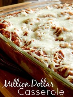 Ally's Sweet and Savory Eats: Search results for million dollar casserole Casserole Dishes, Casserole Recipes, Pasta Recipes, Cooking Recipes, Hamburger Casserole, Burrito Recipes, Lasagna Recipes, Pasta Casserole, Hamburger Recipes