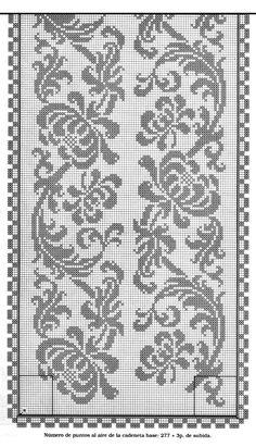 Cross Stitch Borders, Cross Stitch Designs, Cross Stitching, Cross Stitch Embroidery, Cross Stitch Patterns, Filet Crochet Charts, Crochet Cross, Knitting Charts, Thread Crochet