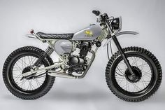 "klassikkustoms: ""#Honda #scrambler #tracker #revolt """