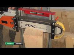 Lignatool Chainsaw Cutting Guide - YouTube