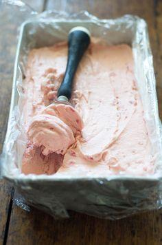 Delicious Bites: Homemade Strawberry Ice Cream Recipe | decor8