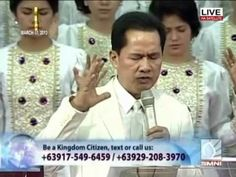 Pastor Apollo C. Quiboloy - The Appointed Son of God Son Of God, The Kingdom Of God, Apollo, Jesus Christ, Worship, Sons, Community, Earth, Pastor