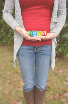 I thought I'd find a couple of neat pregnancy announcements. How many can there be? I found about a billion but I whittled it down to 60 shots in ten categories.