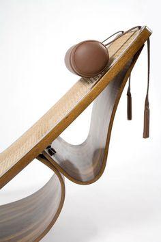 Rio Chaise Longue by Oscar Niemeyer, 1978.