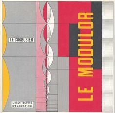 Le Modulor II, LE CORBUSIER, 1955