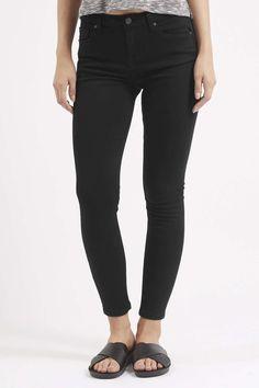 PETITE Black Jamie Jeans - Topshop