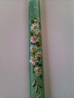 Cute Diys, Holidays And Events, Floral Tie, Easter Eggs, Candles, Creative, Leo, Diy Ideas, Painting