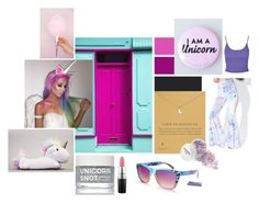 """""""Palette, But Pink Contest"""" by love4all ❤ liked on Polyvore featuring Seed Design, Dogeared, MAC Cosmetics, J. Valentine, Topshop and UnicornAwesomeness"""