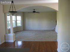 Room Half Wood Half Carpet Google Search Remodel Ideas