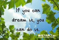 Follow your dreams. Reach your goals. Experience success. www.START.ac #crowdfunding