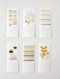 2013 12 Month Calendar by Leah Duncan