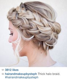 thick halo braid