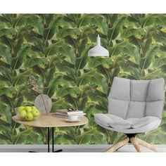 Papier peint intissé Bananier vert