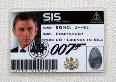 Image result for james bond badge
