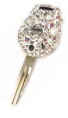 25. Car Key in Diamonds and Pearls Crystal and AB Theme.