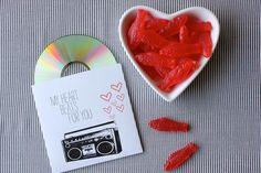 A bowl of swedish fish and a mix cd. A bowl of swedish fish and a mix cd. Kids Valentines Day Treats, Kinder Valentines, Valentine Heart, Fish Hook Necklace, Nail Polish Dupes, Mix Cd, Stick On Nails, Swedish Fish, Free Candy