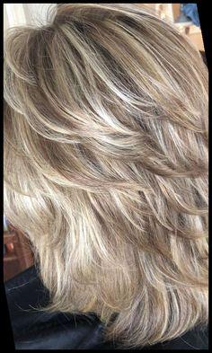Hairstyles For Medium Length Hair Easy, Medium Shag Haircuts, Medium Hair Styles, Easy Hairstyles, Curly Hair Styles, Layered Hairstyles, Hairstyle Ideas, Office Hairstyles, Anime Hairstyles