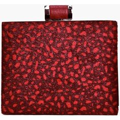 Boohoo Mia Velvet Leopard Print Box Clutch Bag ($26) ❤ liked on Polyvore featuring bags, handbags, clutches, wine, red handbags, leopard clutches, clasp purse, leopard print purse and red purse