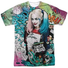 Suicide Squad Harley Psychedelic Puddin TAG And SHARE With Someone Who Would Love This!