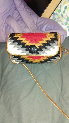 Plastic Canvas Purse PATTERN