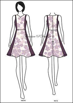 Dress klok pias kombinasi.  #FashionDesigner #Butik #OnlineShop #DesainBajuBusanaWanita #Sketsa #Sketch #Modern #Casual #Trend #Blouse #Dress #Skirt #Hem #Batik #SoloBaru #Sukoharjo #Surakarta #JawaTengah #HP:085226138628 #PinBB:5176EF34