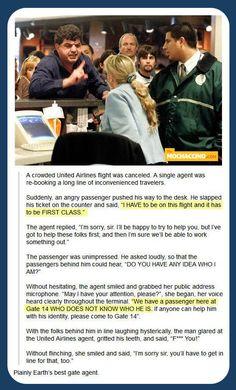 Lady Owns Obnoxious Passenger... -   Misc