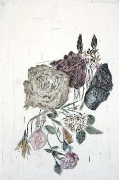 "<p><strong>Artist:</strong> Kiki Smith<br /><strong>Title of Work:</strong> Touch (Yellow Rose)<br /><strong>Year:</strong> 2006<br /><strong>Plate Dimensions: </strong>various<br /><strong></strong><strong>Sheet Dimensions:</strong> 30"" x 22""<strong><br />Material:</strong> Aquatint and etching on paper<br /><strong>Photo Line:</strong> Courtesy of Harlan & Weaver <br /><strong>Collection Credit: </strong>Courtesy of Harlan & Weaver</p><br />Published : April 17th, 2012"