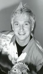 Nelson Renouf, award-winning hairstylist working at Scissors in downtown Ottawa