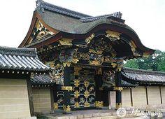 "honganji's ""kara-mon"", Kyoto, Japan Tokugawa Ieyasu, Japanese Buildings, Lord, Japanese Architecture, Buddhist Temple, National Treasure, Old Building, Osaka, Big Ben"