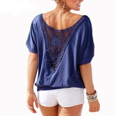 4211efec5c2ad7 57 Best T-Shirts & Tops images in 2019 | Blouses for women, Casual ...