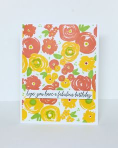 ...Enjoying Life...: Guest Designing For Concord & 9th! Welcome June, Concord And 9th, Concorde, Flower Cards, Pattern Paper, Enjoying Life, Pretty Cards, Handmade Cards, Birthday Cards