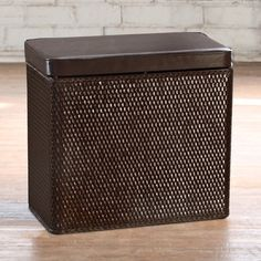 The Carter Bench Hamper From LaMont Home Is The Perfect Size To Fit Any  Room. Compact And Sturdy, This Hamper Is Made Of Folded Flat Paper Wicker  And Topped ...