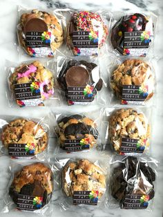 cookie packaging the WINNER of my Online Order Cookie Challenge! Biscuits Packaging, Baking Packaging, Dessert Packaging, Brownie Packaging, Bake Sale Packaging, Cookie Bakery, Big Cookie, Big Fat Cookie Recipe, Cookie Jars