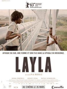 Layla est un film de Pia Marais avec Rayna Campbell, August Diehl. Synopsis : Au coeur de l'Afrique du Sud, Layla, mère célibataire de 27 ans, vient d'être engagée dans une société spécialisée dans la détection de mensonges,