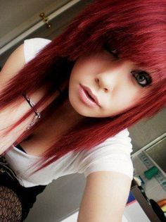 146 Awesome Emo Hairstyle For Every Girls emo girl hair cut style - Hair Style Girl Emo Haircuts, Scene Haircuts, Scene Hairstyles, Emo Girl Hairstyles, Medium Hair Cuts, Medium Hair Styles, Short Hair Styles, Edgy Long Hair, Emo Hairstyles