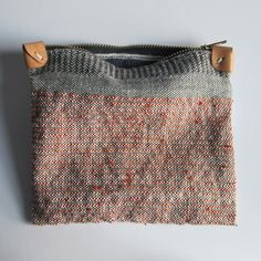 Handwoven Zipper Pouch - Medium - No. 3