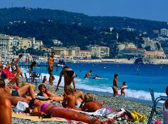 Nice, France.... the nude beaches... midwestern girl growing up fast...