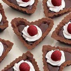 Chocolate-raspberry Tartlets from Williams-Sonoma, found @Edamam!