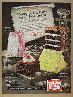 Retro Recipes, Vintage Recipes, Yummy Recipes, Vintage Baking, Vintage Food, Vintage Ads, Vintage Graphic, Vintage Advertisements, Vintage Images