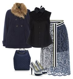 Untitled #4808 by tailichuns on Polyvore featuring polyvore moda style Jil Sander Navy Parka London Preen Tory Burch fashion clothing