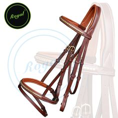 Royal Brass Clincher Bridle with PP Rubber Grip Reins. Regular price $98 Sale price $78 (Conker/ Brass Buckle)