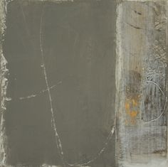 Cheryl Taves, Pushing, mixed media on paper mounted on panel, 10 x 10 inches, 2011