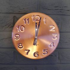 Looking for home accessories and furnishings? With our exclusive range of contemporary interior accessories you need look no further. Copper Wall, Concrete Wall, Diy Fashion, Fashion Ideas, Interior Accessories, Contemporary Interior, Lounge Ideas, Clocks, Home Decor
