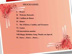 Birthday Program Template - 11+ Free Word, PDF, PSD, EPS ...