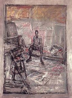 Diego by Alberto Giacometti, 1950 - Oil on canvas, 80 x cm Alberto Giacometti, Nature Drawing, Life Drawing, Giacometti Paintings, Figure Painting, Painting & Drawing, Modern Art, Contemporary Art, Art Uk