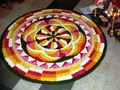 Onam Pookalam Patterns, Best Onam Pookalam Designs