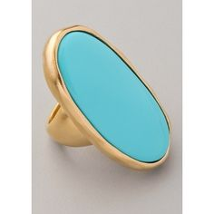 The Oval Ring. oh turquoise, how i love you