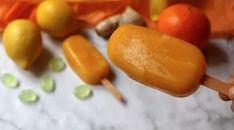 Dunderglass mot förkylning och halsont (apelsin, citron, ingefära, honung)